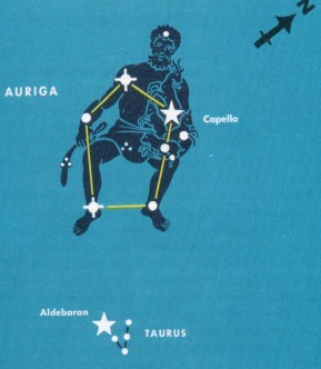 'Charioteer' Constellation Rides Through February's Skies